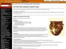 Hands-on History of Pottery Lesson Plan