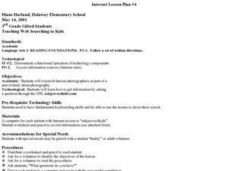 Web Searching Lesson Plan