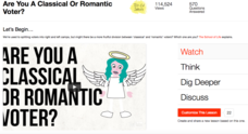 Are You a Classical or Romantic Voter? Video
