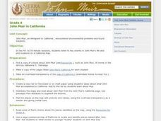 John Muir in California Lesson Plan