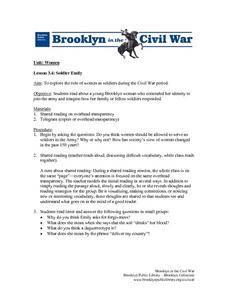 Soldier Emily Lesson Plan