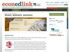 Banks, Bankers, Banking Lesson Plan