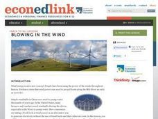 Economics: Are Wind Turbines Economically Feasible? Lesson Plan