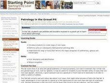 Petrology in the Gravel Pit Lesson Plan
