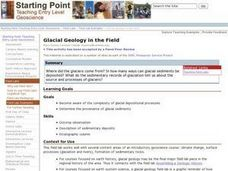 Glacial Geology in the Field Lesson Plan