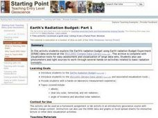 Earth's Radiation Budget Lesson Plan