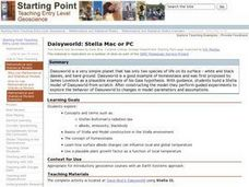 Daisyworld: Stella Mac or PC Lesson Plan