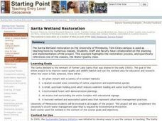 Sarita Wetland Restoration Lesson Plan