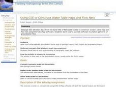 Using GIS to Construct Water Table Maps and Flow Nets Lesson Plan