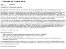 The Earth on Turtle's Back Lesson Plan