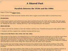 A Shared Past: Parallels Between the 1930s And the 1980s Lesson Plan