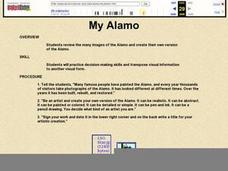 My Alamo Lesson Plan