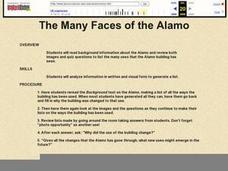 The Many Faces of the Alamo Lesson Plan
