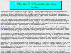 The World of Neonatal Nursing Lesson Plan