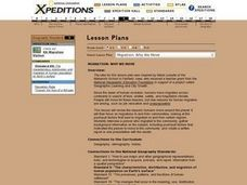 Migration: Why We Move Lesson Plan