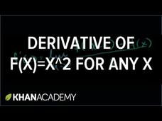 Calculus: Derivatives 2.5 (new HD version) Video