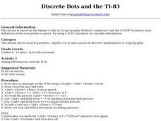 Discrete Dots and the TI-83 Lesson Plan