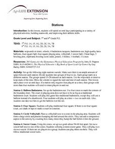 Stations Lesson Plan