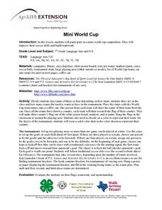Mini World Cup Lesson Plan