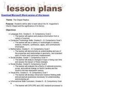 The Chapel Replica Lesson Plan