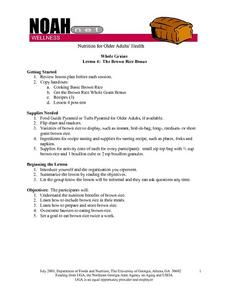 The Brown Rice Bonus Lesson Plan