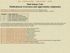 Mad Science Lab Lesson Plan