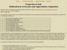 Properties of Soil Lesson Plan