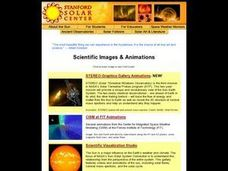 Scientific Images & Animations Lesson Plan