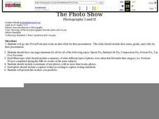The Photo Show Lesson Plan