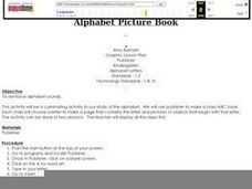 Alphabet Picture Book Lesson Plan