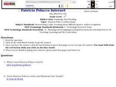 Patricia Polacco Internet Scavenger Hunt Lesson Plan