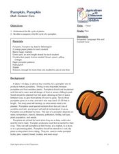 Pumpkin Pumpkin Lesson Plan