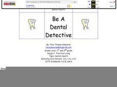 Be a Dental Detective Lesson Plan