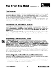 Interpreting the Story: Focus on Style Lesson Plan