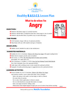 Angry Lesson Plan