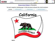 California Worksheet