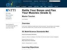 Rattle Your Bones and Flex Your Muscles Lesson Plan