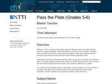 Pass the Plate Lesson Plan