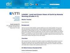 and and Ocean Views of Earth by Remote Sensing Lesson Plan