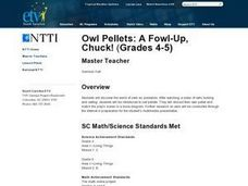 Owl Pellets: A Fowl-Up, Chuck! Lesson Plan