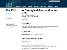 A Geological Puzzle Lesson Plan