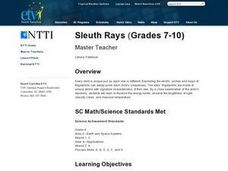 Sleuth Rays Lesson Plan