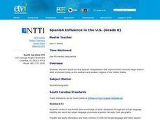 Spanish Influence in the U.S. Lesson Plan