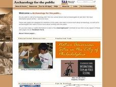 Site Formation In Archaeology Lesson Plan