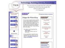 Drippy the Waterdrop Lesson Plan