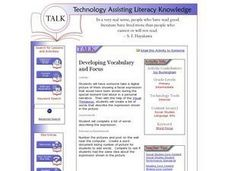 Developing Vocabulary and Focus Lesson Plan