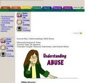 Understanding Abuse Lesson Plan