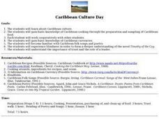 Caribbean Culture Day Lesson Plan