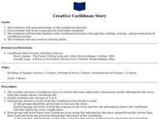 Creative Caribbean Story Lesson Plan
