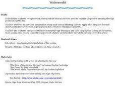 Waterworld Lesson Plan
